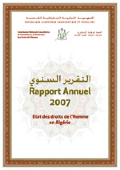 RAPPORT ANNUEL 2007